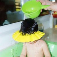 Mũ gội đầu chắn nước có vành tai cho bé