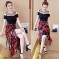Đầm Ôm Kèm Váy Choàng
