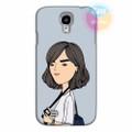 Ốp lưng Samsung Galaxy S4 in hình Cô Gái