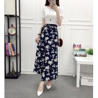 chân váy maxi hoa văn Mã: VN576