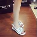 Giày Sandal bệt đính đá cao cấp