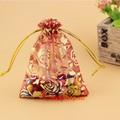 Túi voan vải dây rút 12 x 9cm - Combo 10 túi quà nhỏ candyshop88.vn