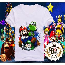 Áo thun Mario