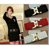 Thắt lưng dây nịt nữ thời trang Hàn Quốc L12TL34