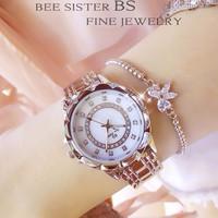 Đồng hồ nữ đính đá thời trang BS FA1506