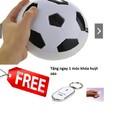 Quả bóng đá đĩa dùng pin tặng 1 móc khóa huýt sáo