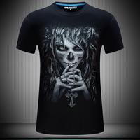 áo thun nam 3d hình quỷ Mã: NT1727