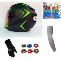 Mũ bảo hiểm Fullface NAPOLI Sport tặng phụ kiện