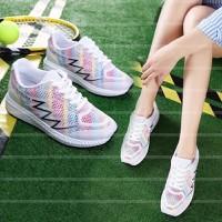 Giày bata nữ xinh  chất lưới nhựa