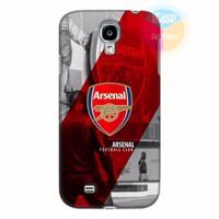Ốp lưng Samsung Galaxy S4 in hình CLB Arsenal