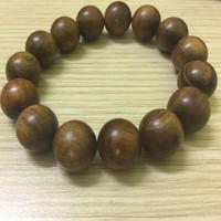 Vòng tay gỗ Bách xanh cao cấp hạt 20mm