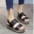 Giày Sandal Đế Bệt Nữ Siêu Dễ Thương - Phong Cách Hàn Quốc - SD05