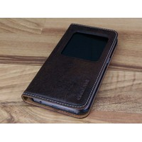 Bao Da Samsung Galaxy S6 Edge Màu Nâu Đất