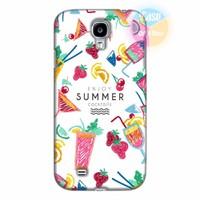 Ốp lưng Samsung Galaxy S4 in hình Cocktails Summer