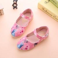 Giày Elsa bé gái kín gót màu hồng 3 đến 6 tuổi