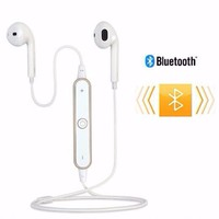 Tai nghe bluetooth sports headset S6 không dây Trắng