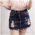 Váy ngắn jean