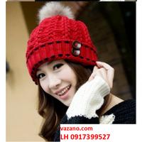 Nón len nữ mũ len nam nữ Hàn QUốc thời trang L12NL96