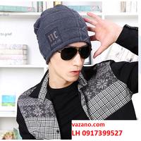 Nón len nam nữ mũ len nam nữ Hàn QUốc thời trang L12NL101