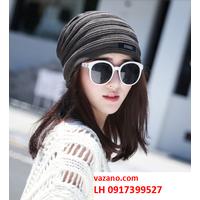 Nón len nữ Mũ len nam Hàn QUốc thời trang L12NL94