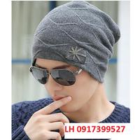 nón len nam Mũ len nam Hàn QUốc thời trang L12NL92