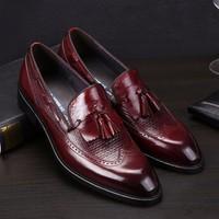 Giày tây Aston MG - giày lười - giày công sở nam