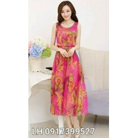 Đầm maxi váy maxi VINTAGE L12mx31