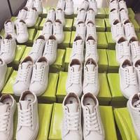 Giày Oxford nữ trắng phong cách hàn