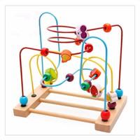 Đồ chơi sâu chuỗi gỗ thông minh cho bé