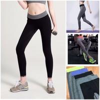 TT110 - Quần dài thể thao nữ tập Gym Yoga Aerobic