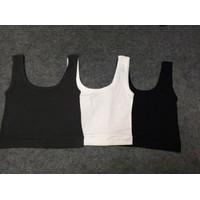Combo 3 áo ba lỗ nữ cổ vuông croptop