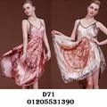 Váy Ngủ Phi Lụa Cao Cấp D71