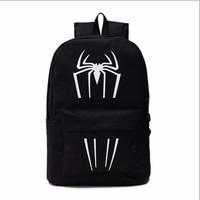 Balo spider man người nhện dạ quang