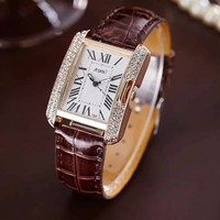 Đồng hồ nữ - Đồng hồ mặt vuông
