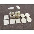 Khuôn làm bánh trung thu set 4 mẫu