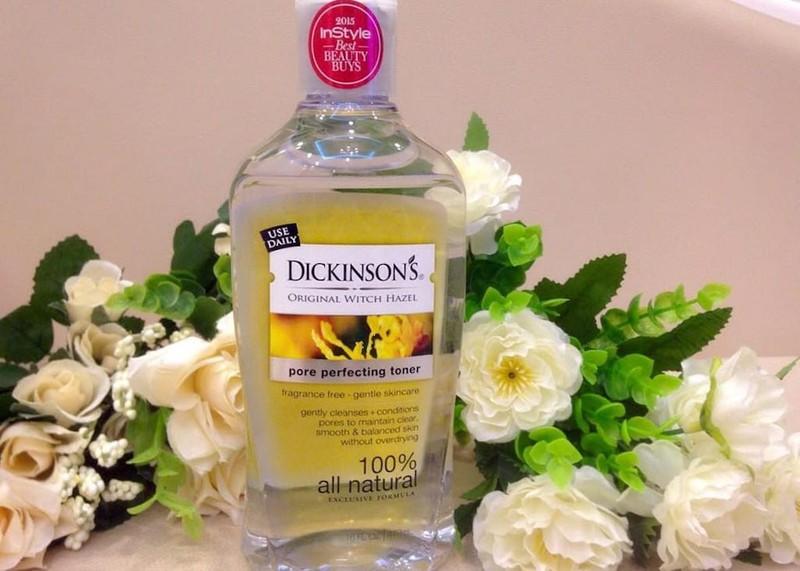 Nước hoa hồng dickinson s original witch hazel pore perfecting