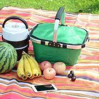 Giỏ xách du lịch đa năng gấp gọn-Giỏ đựng picnic đồ gấp gọn