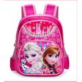 Ba lô đi học công chúa Elsa 3 ngăn size lớn cho bé lớp 1- lớp 5