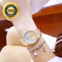 Đồng hồ nữ chính hãng Bee Sister mặt hoa nổi