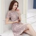 Hàng nhập - Đầm xòe ren xinh xắn trang nhã - DSN93