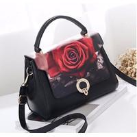 Túi xách thời trang nữ họa tiết khóa tròn - LN1333