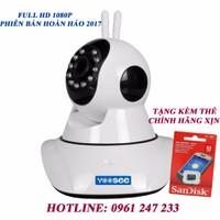 Camera Yoosee 2.0 FULL HD 1080 TẶNG KÈM THẺ 32GB- TRỊ GIÁ 350k