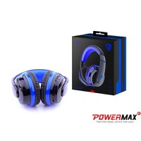 Tai nghe bluetooth Powermax Ovleng MX666 Màu xanh đen - Best Sales