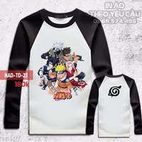 Áo Phông Naruto Dài Tay