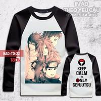 Áo Phông Sasuke Dài Tay