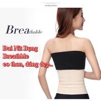 Đai Nịt Bung Eo Thon Thoáng Khí Breathable