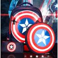 Balô đi học 3 trong 1 American Captain cao cấp kèm túi nhỏ cho bé QS76