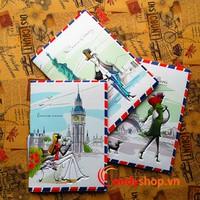 Bao đựng hộ chiếu - passport cover 3D PP36 candyshop88.vn