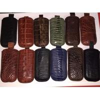 Bao Điện Thoại 8800 Handmade Da Cá Sấu và Đà Điều