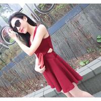 Đầm xòe ngắn trẻ trung - đầm xòe cách điệu - váy xòe đẹp